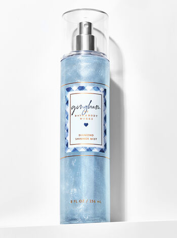 Signature Collection Gingham Diamond Shimmer Mist - Bath And Body Works