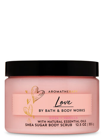 Aromatherapy Rose Vanilla Shea Sugar Body Scrub - Bath And Body Works
