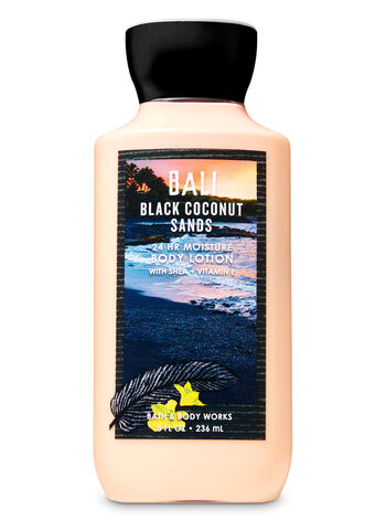 Signature Collection Black Coconut Sands Super Smooth Body Lotion - Bath And Body Works