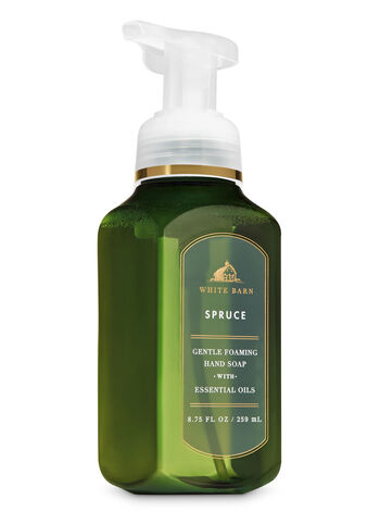 White Barn Spruce Gentle Foaming Hand Soap - Bath And Body Works
