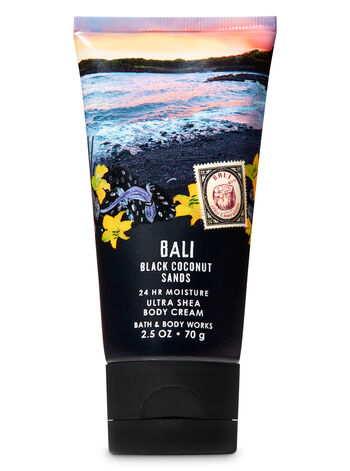 Signature Collection Black Coconut Sands Travel Size Body Cream - Bath And Body Works