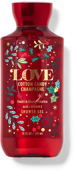 Cotton Candy Champagne Shower Gel