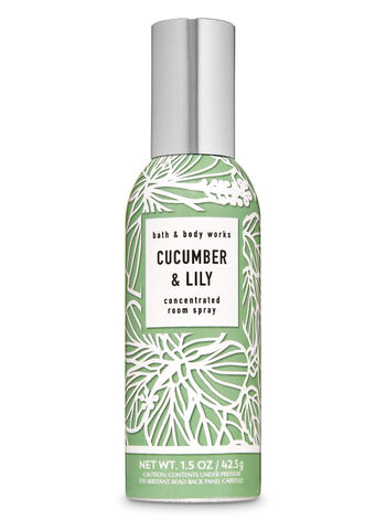 Cucumber & Lily Concentrated Room Spray - Bath And Body Works