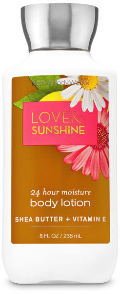Love & Sunshine Super Smooth Body Lotion