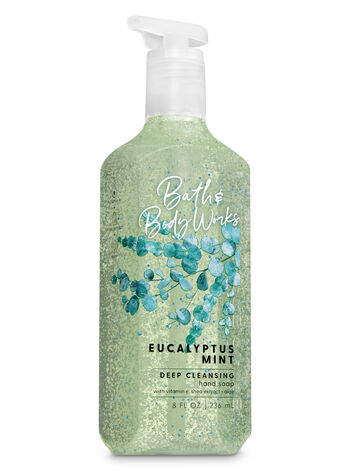 Eucalyptus Mint Deep Cleansing Hand Soap - Bath And Body Works