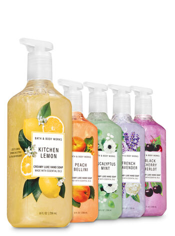 Favorite Picks Creamy Luxe Hand Soap, 5-Pack - Bath And Body Works