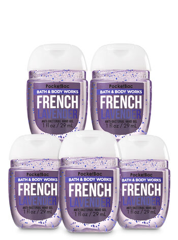 French Lavender Pocketbac Hand Sanitizer 5-Pack - Bath And Body Works