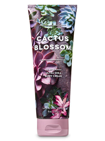 Signature Collection Cactus Blossom Ultra Shea Body Cream - Bath And Body Works