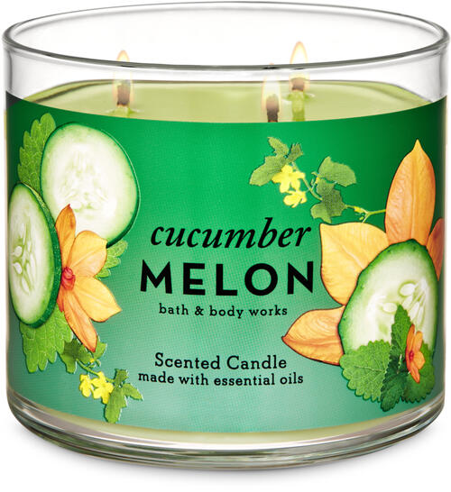 Cucumber Melon 3-Wick Candle