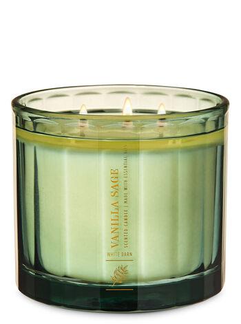 Vanilla Sage 3-Wick Candle