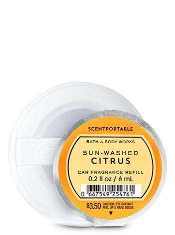 Sun-Washed Citrus Car Fragrance Refill - Bath And Body Works