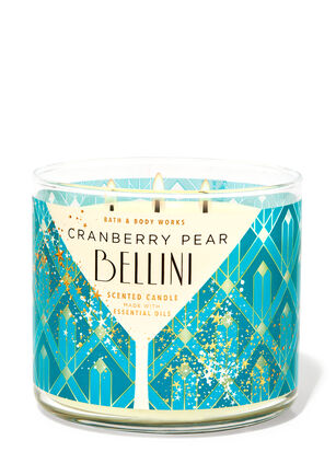 Cranberry Pear Bellini 3-Wick Candle