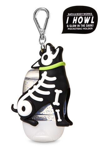 Howling Skeleton Dog PocketBac Holder