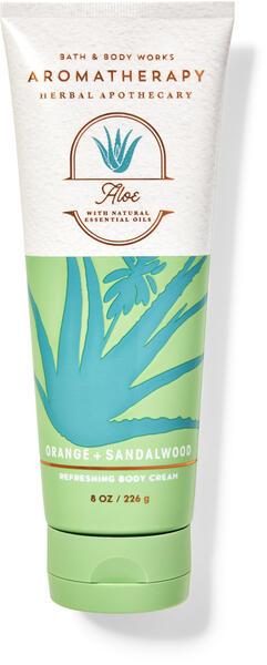 Orange Sandalwood Body Cream
