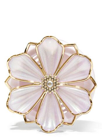 Pink Flower Vent Clip Car Fragrance Holder