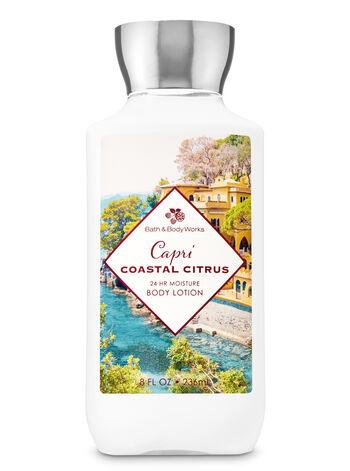 Capri Coastal Citrus Super Smooth Body Lotion - Bath And Body Works
