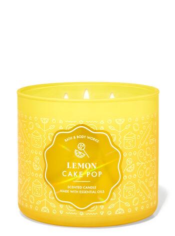 Lemon Cake Pop 3-Wick Candle