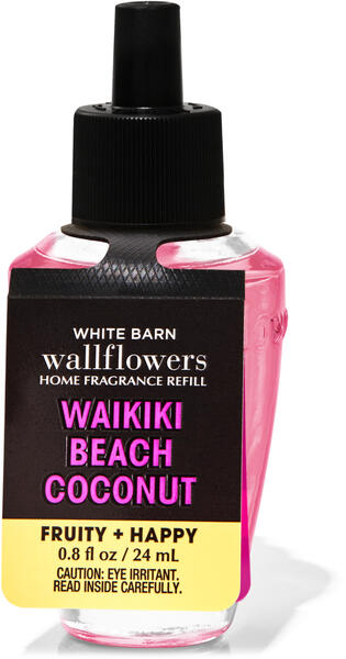 Waikiki Beach Coconut Wallflowers Fragrance Refill