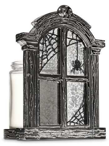 Halloween Window Single Wick Candle Holder - Bath And Body Works
