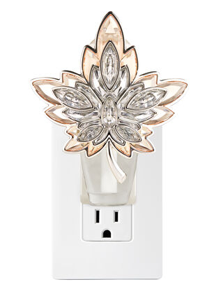 Modern Maple Leaf Nightlight Wallflowers Fragrance Plug