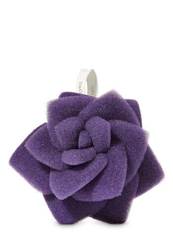 Purple Flower Bath Sponge - Bath And Body Works