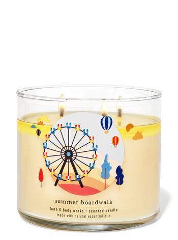 Summer Boardwalk 3-Wick Candle
