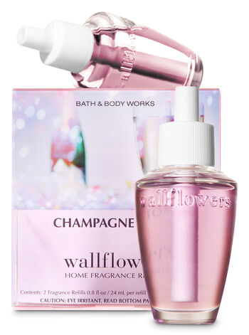Champagne Toast Wallflowers Refills, 2-Pack - Bath And Body Works