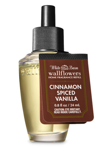 White Barn Cinnamon Spiced Vanilla Wallflowers Fragrance Refill - Bath And Body Works