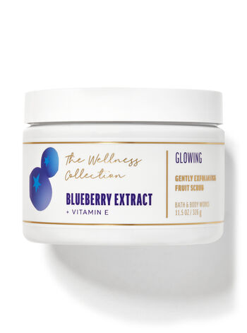 Blueberry Extract Gently Exfoliating Fruit Scrub