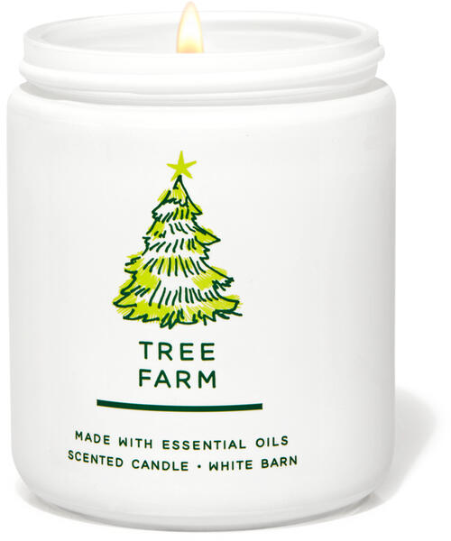 Tree Farm Single Wick Candle
