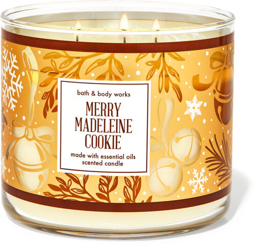 Merry Madeleine Cookie 3-Wick Candle