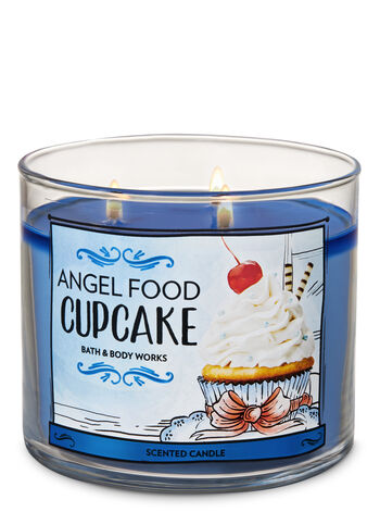 Angel Food Cupcake 3-Wick Candle - Bath And Body Works