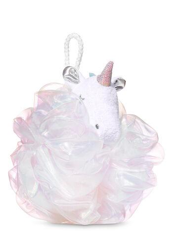 White Unicorn Loofah - Bath And Body Works