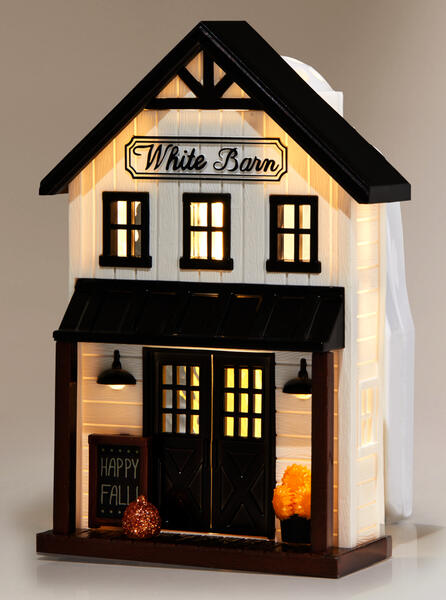 White Barn Farmhouse Nightlight Wallflowers Fragrance Plug
