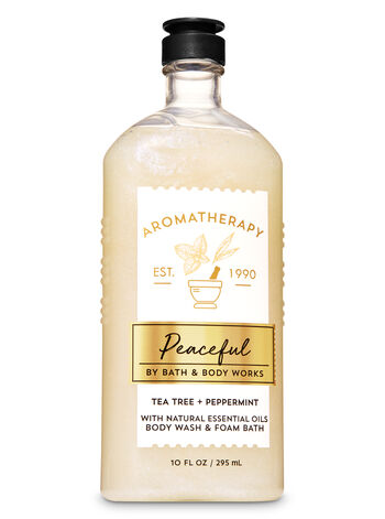 Aromatherapy Tea Tree Peppermint Body Wash & Foam Bath - Bath And Body Works