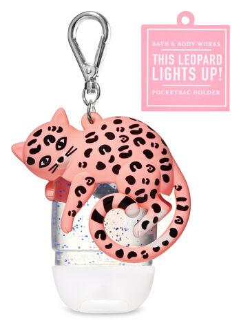 Light-Up Leopard PocketBac Holder