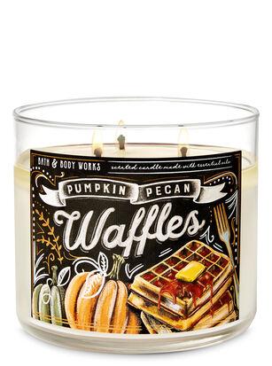 Pumpkin Pecan Waffles 3-Wick Candle