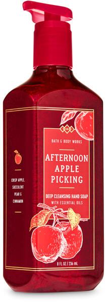 Afternoon Apple Picking Deep Cleansing Hand Soap