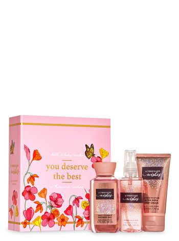 A Thousand Wishes Mini Gift Box Set - Bath And Body Works