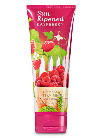 Signature Collection Sun-Ripened Raspberry Ultra Shea Body Cream - Bath And Body Works