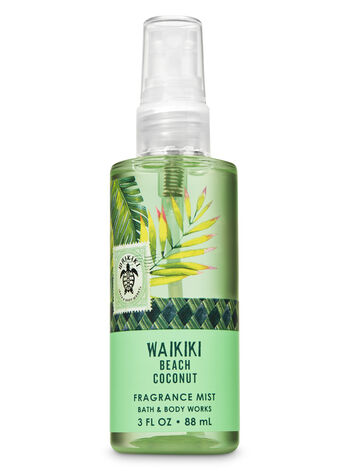 Signature Collection Waikiki Beach Coconut Travel Size Fine Fragrance Mist - Bath And Body Works