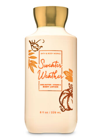 Sweater Weather Super Smooth Body Lotion - Bath And Body Works