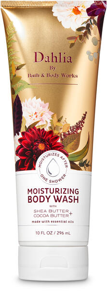 Dahlia Moisturizing Body Wash