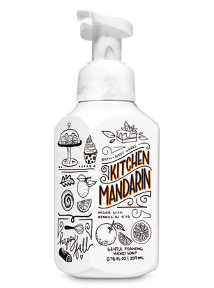 Kitchen Mandarin Gentle Foaming Hand Soap