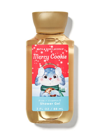 Merry Cookie Travel Size Shower Gel