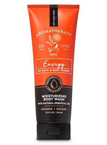 Aromatherapy Orange Ginger Moisturizing Body Wash - Bath And Body Works