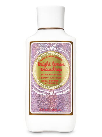 Bright Lemon Snowdrop Super Smooth Body Lotion - Bath And Body Works
