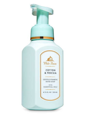 White Barn Cotton & Freesia Gentle Foaming Hand Soap - Bath And Body Works