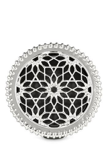 Floral Pattern Visor Clip Car Fragrance Holder