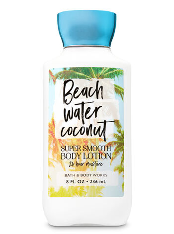 Signature Collection Beach Water Coconut Super Smooth Body Lotion - Bath And Body Works